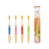 Зубная щётка для детей от 7 лет с ионами золота EQ Maxon Wellbeing Gold Toothbrush, мягкая